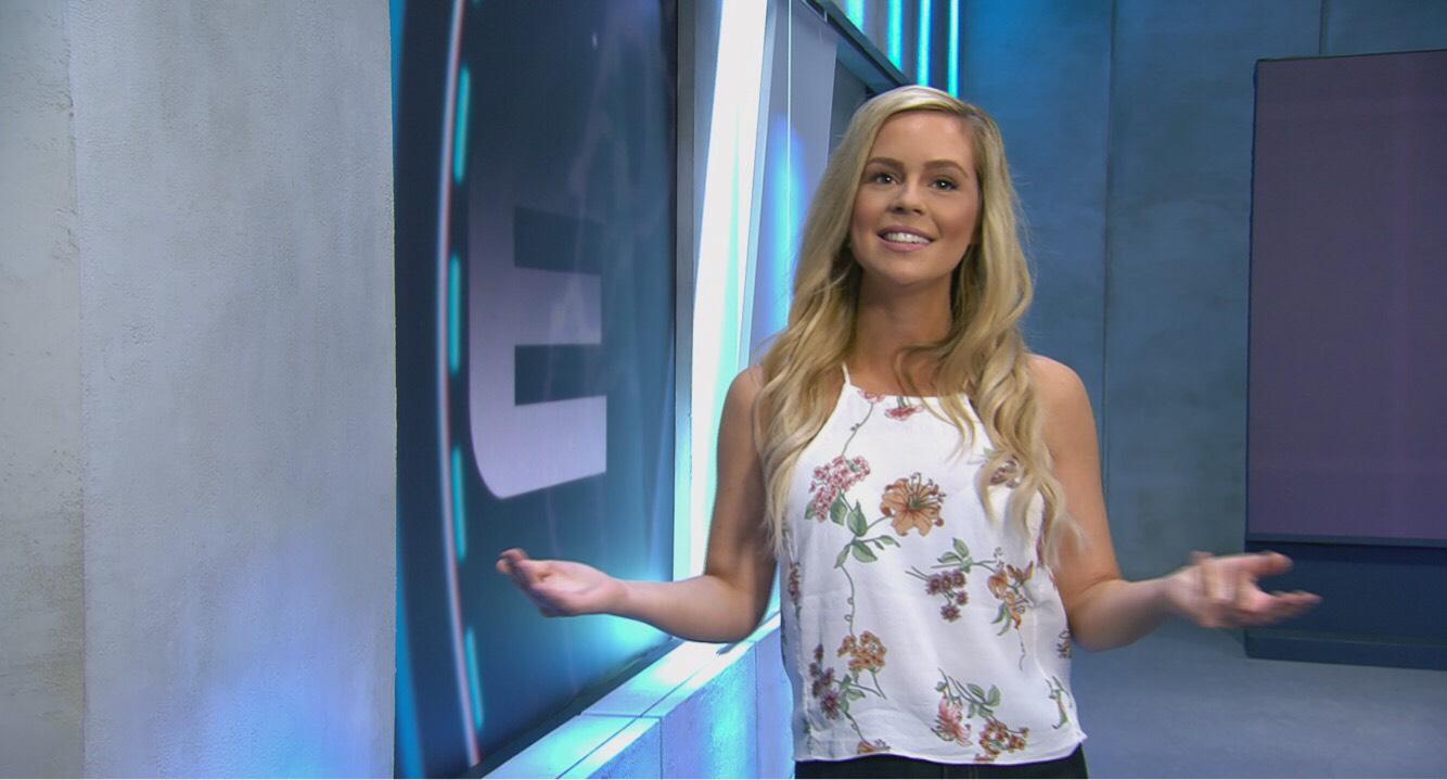 Emzia girl gamer and TV host